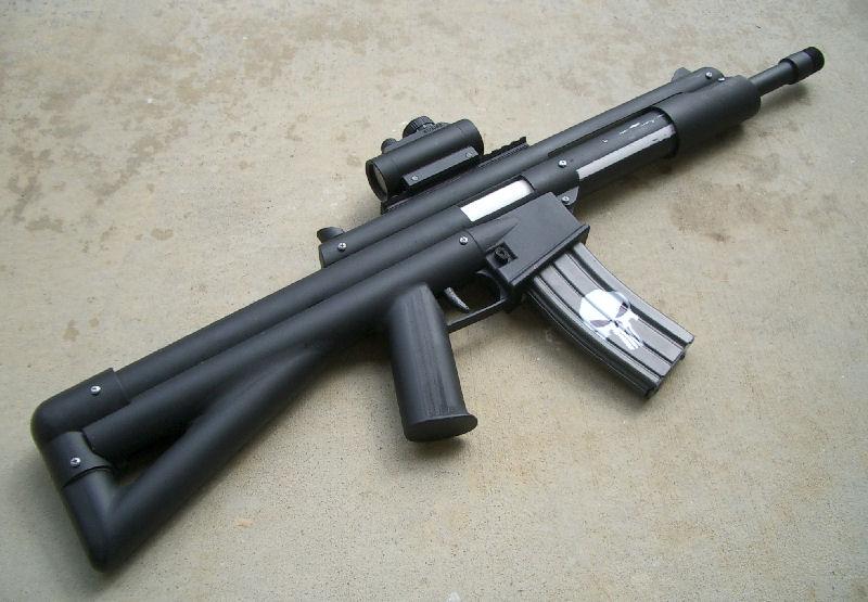 Boltsniper Scar-n Rifle Bs-8 - Homemades - NerfHaven